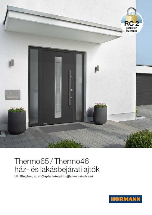 Thermo65 / Thermo46   ház- és lakásbejárati ajtók