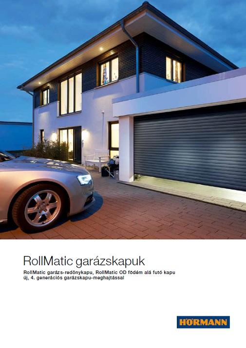 RollMatic garázs-redőnykapu