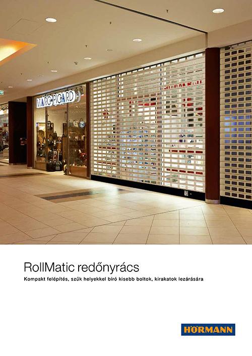 RollMatic redőnyrács